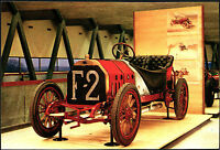 CARTOLINA - FIAT GRAND PRIX - 1907 - MUSEO DELL'AUTOMOBILE - ROTOCALCO FUMERO