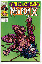 Marvel Comics Presents 75 1991 NM Weapon X Wolverine Barry Windsor Smith