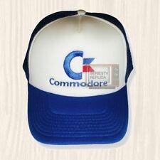 Commodore Logo Trucker Hat Vintage Computer Console 64 Amiga Cap Embroidered