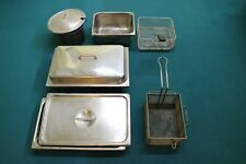 Commercial Kitchen Equipment Bundle - includes table pans and fryer baskets