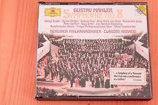 Mahler Symphonie n°8 - Von Otter Terfel Seiffert Lang Rost ... Abbado - 2CD DGG