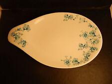 """Vintage Hallcraft Eva Zeisel Frosted Flowers Large Platter 17"""""""