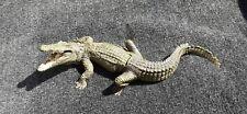 Bronze Bergman Namgreb Crocodile Nude bottom Woman Girl Naked Alligator reptile