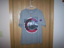 PRIDE OF CHICAGO CUBS SHIRT MLB GRAY LARGE
