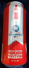 2017 World Series Houston Astros Special Edition Coca-Cola 16 oz. Coke Can
