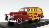 Goldvarg 1/43 Scale GC-034B - 1948 Pontiac Woodie - Rio Red 1 Of 200