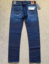 BNWT Replay Rob MA950 Straight Tapered Ice Blast Mens Denim Jeans | 31W 32L