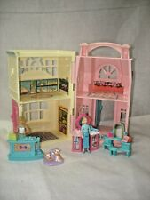 FISHER PRICE SWEET STREET BEAUTY SALON PET SHOP DOLLHOUSE