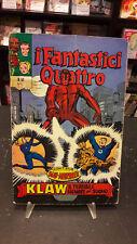Fantastici Quattro #52 Editoriale Corno 1973 danneggiato no resa