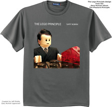 "Gary Numan ""LEGO Numan"" shirts"