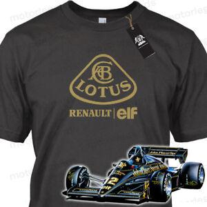 MOTORLEGENDS™ TEAM LOTUS Renault Historic F1 Racing Grand Prix T-Shirt TEE New