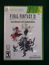 Final Fantasy XI Online: Seekers of Adoulin (Microsoft Xbox 360, 2013)