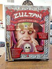 Zultan Antimated Fortune Teller Machine Gemmy Vintage Hard To Find
