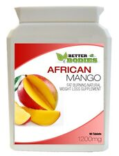 African Mango Diet Tablets Weight Loss Fat Burn Slimming Pills 90 Bottle