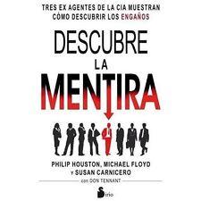 Descubre la mentira (Spanish Edition) by Philip Houston in Used - Very Good