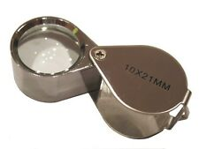 10 x 21mm Jeweler's Magnifying Loupe 10x Magnifier Lens new