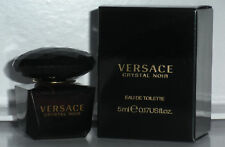 CRYSTAL NOIR BY VERSACE 5 ML EDT MINI FOR WOMEN NIB
