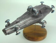Nebuchadnezzar Matrix Spacecraft Mahogany Kiln Dry Wood Model Large New