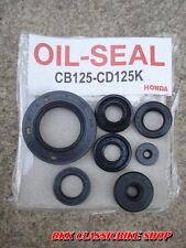 Honda CB125 CB125K3 CB125K5 CD125 CD125K3 CL125 CL125K3 Engine Oil Seal Kit JP
