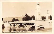 BOISE, ADA COUNTY, IDAHO, MEMORIAL BRIDGE CAPITOL BLVD, REAL PHOTO PC c 1930's