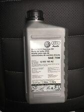 6 Liters VW Audi OEM DSG Transmission Fluid New G052182A2 R32 GTI CC TT A3 EOS