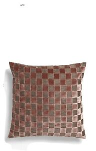Brand New John Lewis Cushion. Dusky Pink/grey Check.