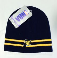 Indiana Pacers Knit Beanie Toque Skull Cap Winter Hat NEW NBA - Blue