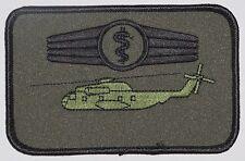 Aufnäher Patch Namemsschild CH-53 Sanitätspersonal oliv .........A3309