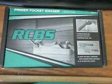 RCBS 9474 Primer Pocket Swager 22 Caliber Bench Tool