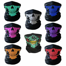 MULTIFUNCTIONAL SKULL DESIGN NECK TUBE/SCARF/FACE MASK - BIKERS - MOTORCYCLISTS