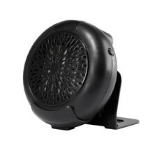 900W Mini Air Heater Small Room Heater Winter Warmer Fan w/ Remote Controller Bl