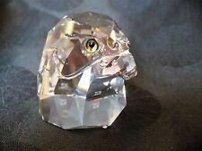 Swarovski Crystal, Falcon Head 7645 Nr045 000 Mint, Block Logo w/Box
