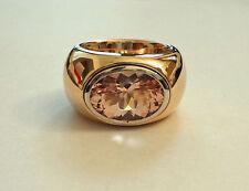 """""""Top Top Sonderangebot """" Morganit Ring 7,12 carat  23 g 585 Gold  Traumring"""
