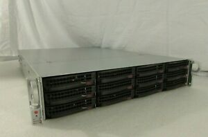 "Supermicro SC826A-R1200LPB 2U RM Chassis 12-Bay 3.5"" SAS2/SATA3 6GB/s BP E-ATX"