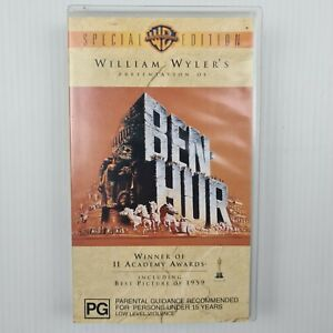 Ben-Hur Special Edition VHS Tape - TRACKED POSTAGE