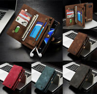 CaseMe For iPhone 6 6s 7 8 X Premium Magnetic Flip PU Leather Wallet Cover Case