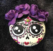Oaxaca, Mexico necklace-Mexican Day Of The Dead style