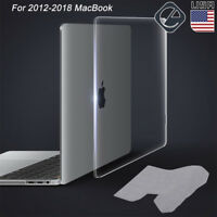 "Clear Hard Case Shell Keyboard Cover for MacBook Pro 13"" 15"" Retina 13"" Air 11"""