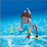 3 Piece Water Swimming Pool Fun Diving Toys Game Dive