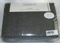 THE BEST Dormisette Thick German Flannel Sheet Set Queen, King, Cal Kg Dark Gray