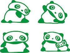 4 X STICKERS - Osos Panda - Light switch -VINILO-WALL DECAL-VINYL - No Disney