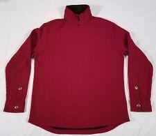 Horny Toad 1/4 Zip Sweatshirt Men's Medium