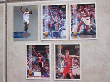 1994 Upper Deck NBA Basketball Cards x 5 Proview Holojam NO 18, 53, 68, 80, H35
