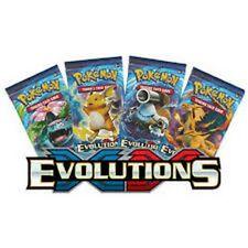 BOOSTER POKEMON - EVOLUTIONS  - NEUF  - LOT DE 4 PQTS