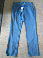 ADIDAS - BLUE COLOURED BUTTON FLY SLIM FIT Jeans Size 30/32