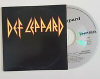"""DEF LEPPARD : ACOUSTIC MIX of """"TWO STEPS BEHIND"""" + 2 ░ X-RARE FRENCH PROMO CD ░"""
