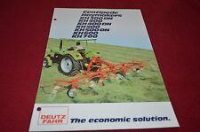 Deutz Fahr KH 300 KH400 KH500 Centipede Haymaker Dealer's Brochure DCPA2 ver2