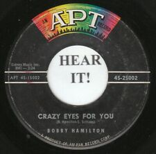 Bobby Hamilton R&B 45 (Apt 25002) Crazy Eyes for You /While Walking Together