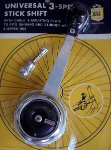NOS Vintage Suntour Click Stick Bicycle Shifter  for Sturmey Archer 3-Speed Hub