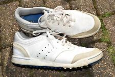 Men's Vintage Adidas Cricket Shoes Size UK10.5 white